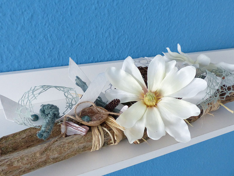 Maritime/ Florale Dekoration